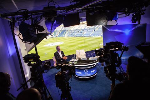 BT Sport studio - Content Everywhere